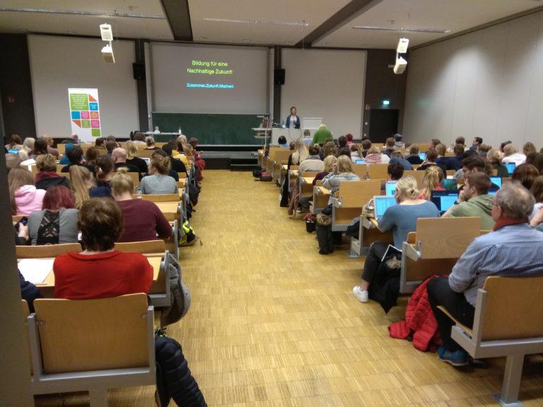 20.01.2020 Margret Rasfeld hält Vortrag an UNI Osnabrück