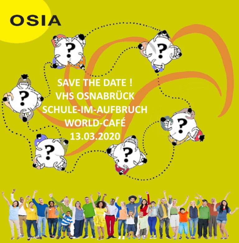 OSIA Word Cafe Save the date 13032020